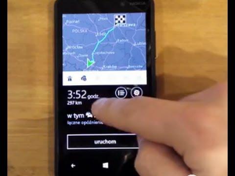 HERE Bezpłatna Nawigacja Offline GPS na WINDOWS PHONE Lumia Nokia