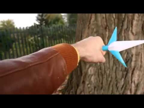 How to make paper kunai minato