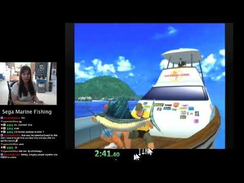 World Record In Sega Marine Fishing - 5:29.40
