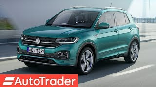 FIRST LOOK: 2019 Volkswagen T-Cross SUV, the Nissan Juke and Kia Stonic rival