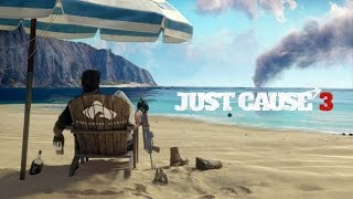 Just Cause 3 start new game on the Boom Island
