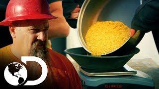 ¡Encontraron más oro de lo que esperaban! | Fiebre de oro | Discovery Latinoamérica