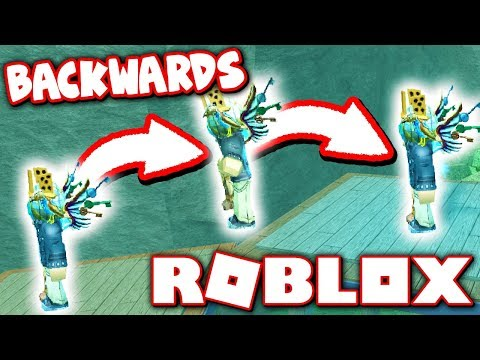 BACKWARDS ONLY CHALLENGE IN FLOOD ESCAPE 2!! (Roblox)
