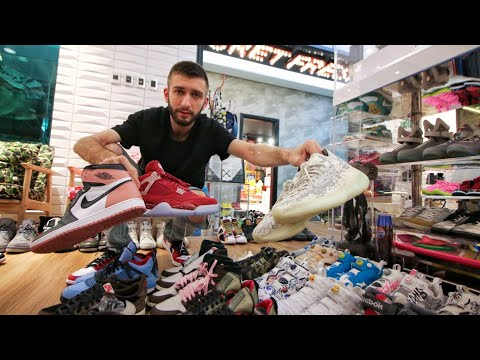NEVER SEEN SNEAKERS in $6,000,000 SNEAKER COLLECTION with Big Boy Cheng!