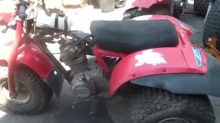 5_4_15, Honda ATC185, test drive, Junk Yard dog lives!