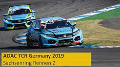 ADAC TCR Germany Rennen 2 Sachsenring 2019 Re-Live Deutsch