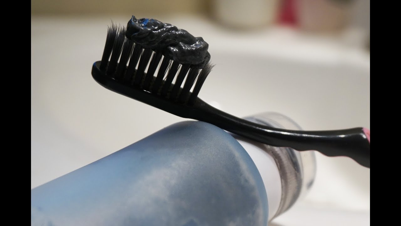 diy black toothpaste to whiten remineralize teeth charcoal tooth whitener youtube. Black Bedroom Furniture Sets. Home Design Ideas