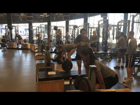 A Look into Nevada Volleyball Strength Training