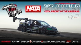 LIVE Super Lap Battle Circuit of the Americas 2019 Day 1!