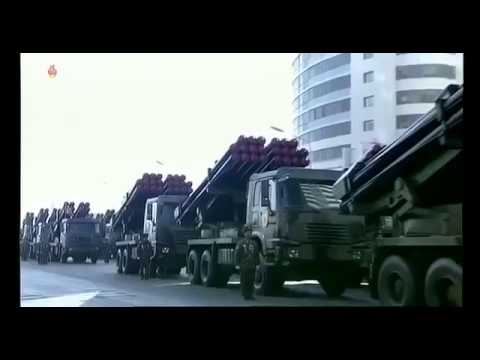 FULL: North korea military parade2018