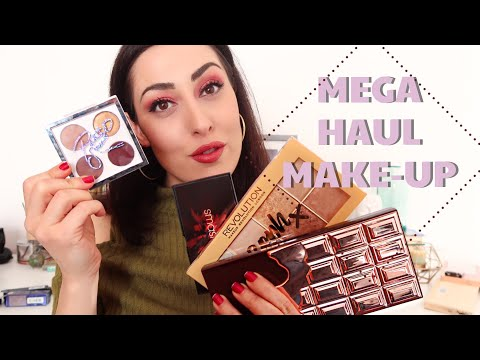 MEGA HAUL MAKE-UP per TUTTE LE TASCHE \ mac neve makeup revolution mulac smashbox
