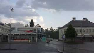 Rankka vesisade Kauhajoella 2.6.2013