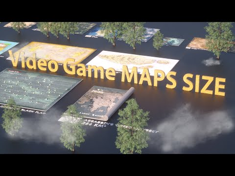 VIDEO GAME Maps Size Comparison | 2019 Mp3