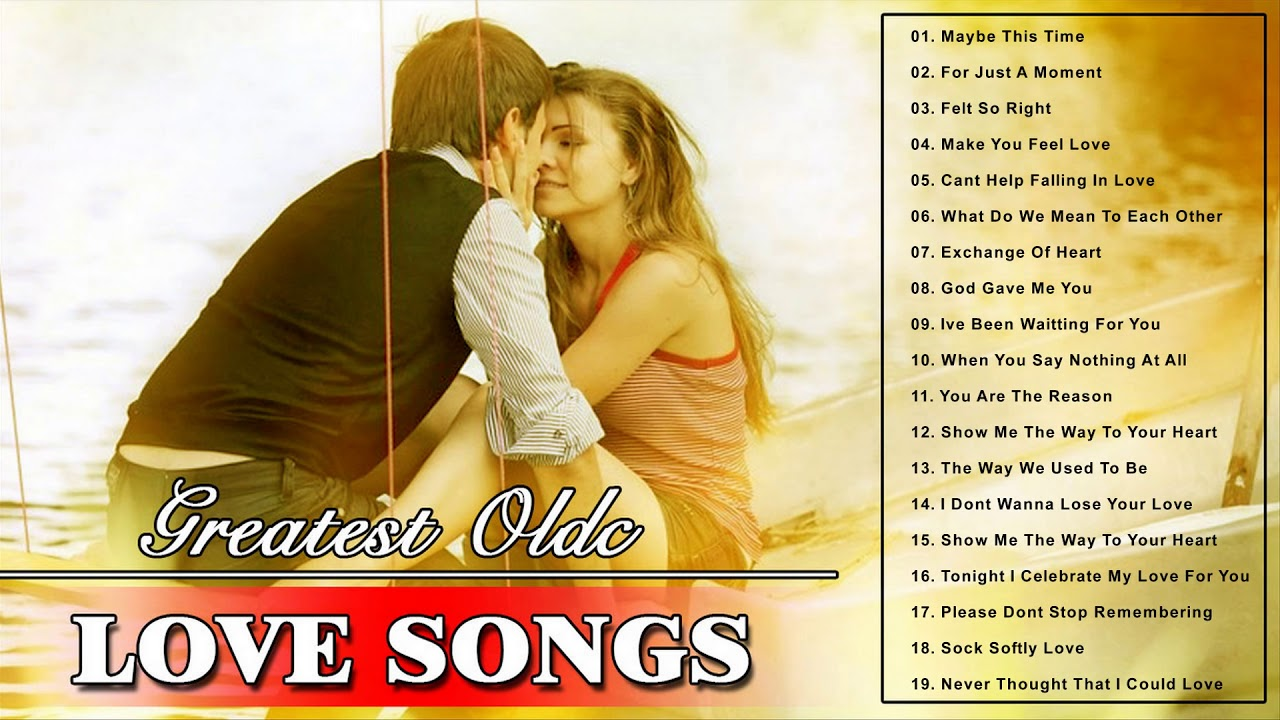 Greatest Old Love Songs - Best English Love Songs Collection - Nonstop Love Music