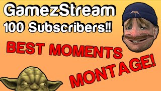 100 Subscriber Special - Funny Moments Montage Thumbnail