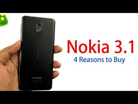 4 Reasons to Buy Nokia 3.1