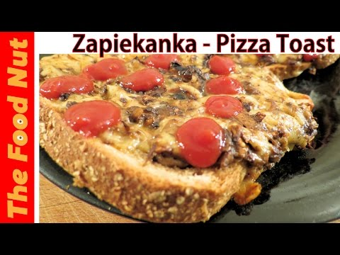 Zapiekanka Pizza Toast Recipe: How To Make Pizza Bread With Mushrooms