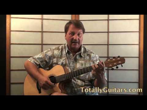 Sandman Acoustic Guitar Lesson - America