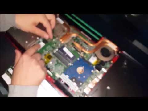 [DIY] MSI GE62 Apache Memory Ram + SSD m.2 upgrade