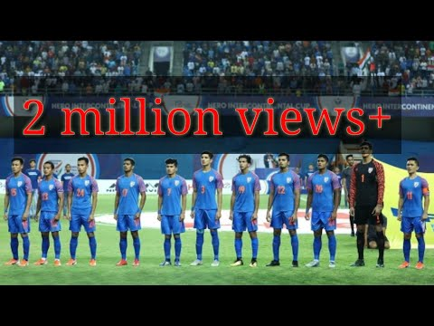 SYRIA VS INDIA Hero International Cup Two Team National Anthem Football 2019