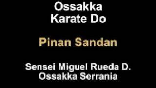"Marciales.com.mx Como hacer OSSAKKA KARATE DO "" Pinan Sandan"" por Sensei Miguel Rueda Davalos"