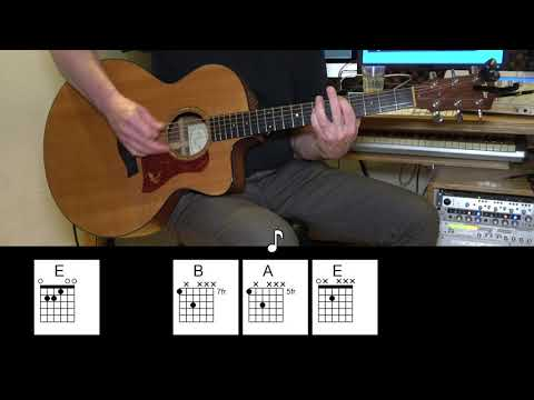 I Want To Break Free - Acoustic Guitar - Queen - Original Vocal Track - Chords