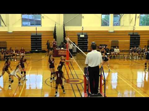 Tino VB 9/9/11 Santa Teresa Varsity Match Part 1