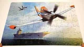 САМОЛЕТЫ ДИСНЕЙ пазл игры логические головоломки для детей Disney Puzzle Game PLANES 104 элемента(, 2016-02-28T08:38:49.000Z)