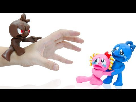TINY CREATES EVIL DOPPELGANGER - Funny Moment Stop Motion Animation Cartoons