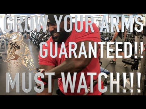 ARSENAL EPISODE 1-GROW YOUR ARMS GUARANTEED-MUST WATCH!!!