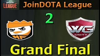 Happy Feet vs WG Unity Game 2   Grand Final   joinDOTA League 11 Asia