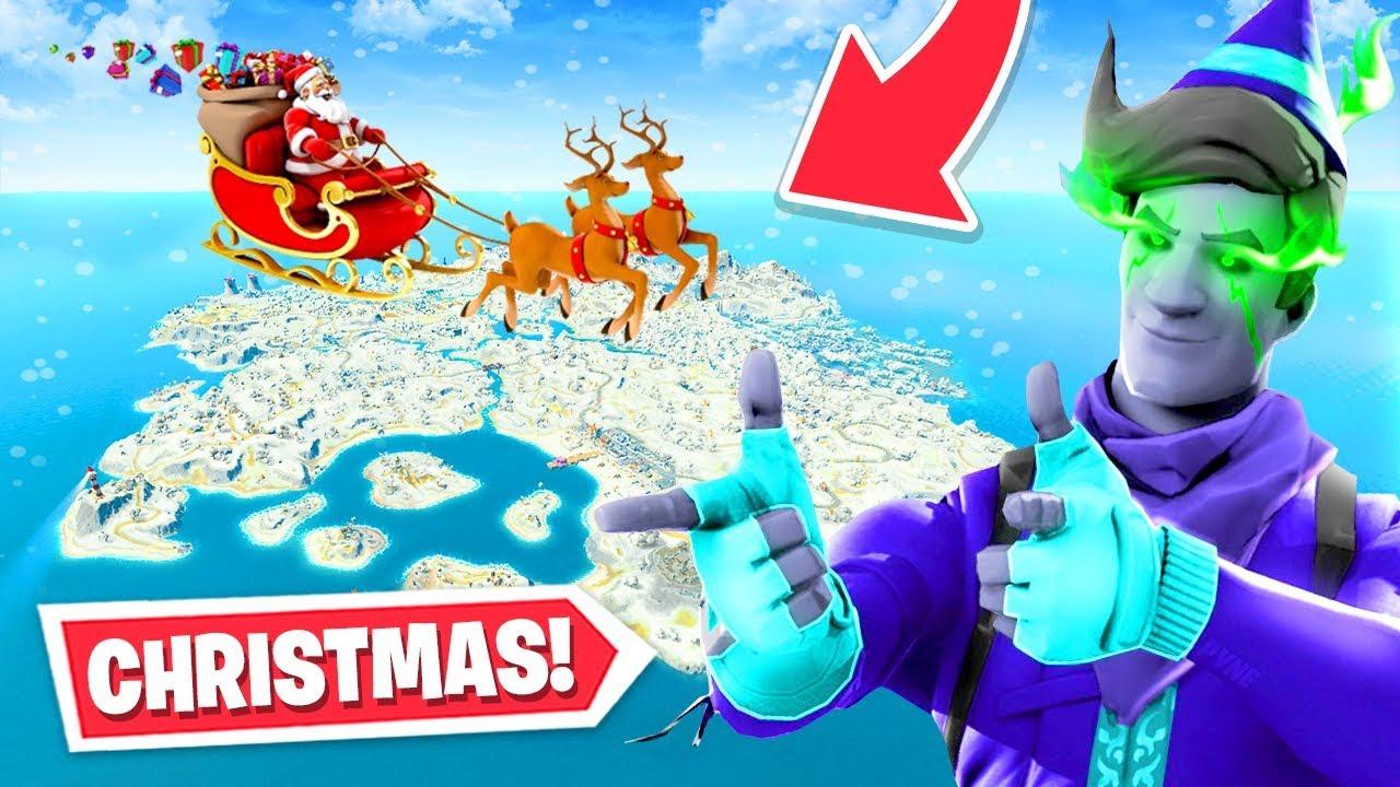 New Christmas Update Arrives To Fortnite Skins Map Changes More Youtube Fortnite inspired christmas tree bauble. new christmas update arrives to fortnite skins map changes more