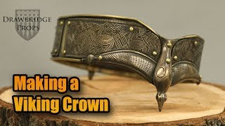 Making a Viking Crown - How I build Armour