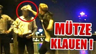 POLIZIST MÜTZE KLAUEN !!