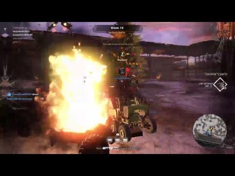 Crossout 911 Heist  Natal PS4 Ao Vivo Live Stream