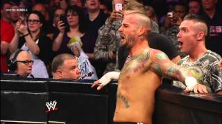 The Rock vs. CM Punk - WWE Championship Match: Royal Rumble 2013