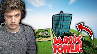66.000€ MINECRAFT THRON! ABER JUNGE GIBT UNHÖFLICHEN SPIELERN NICHTS!! (Verarsche) 😂