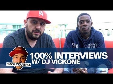 100% INTERVIEWS W/ DJ VICK ONE AND RICH HOMIE QUAN!!!!