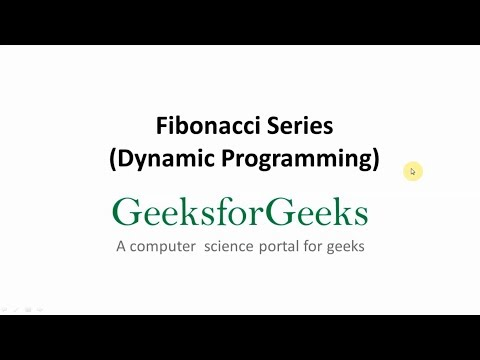Program for Fibonacci numbers - GeeksforGeeks