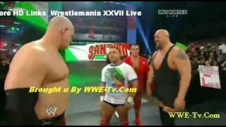 Kane dancing on Santino