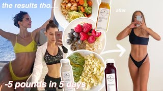 TRYING THE VICTORIA SECRET MODEL DIET AND WORKOUTS FOR A WEEK (HARD!!!)