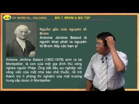 Đề cương hóa học lớp 10 - Chương. Nhom VIIA, Halogen - Bài 7. Brom và bài tập áp dụng
