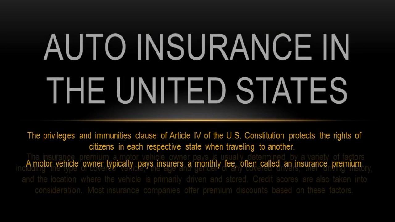 Auto Insurance in th