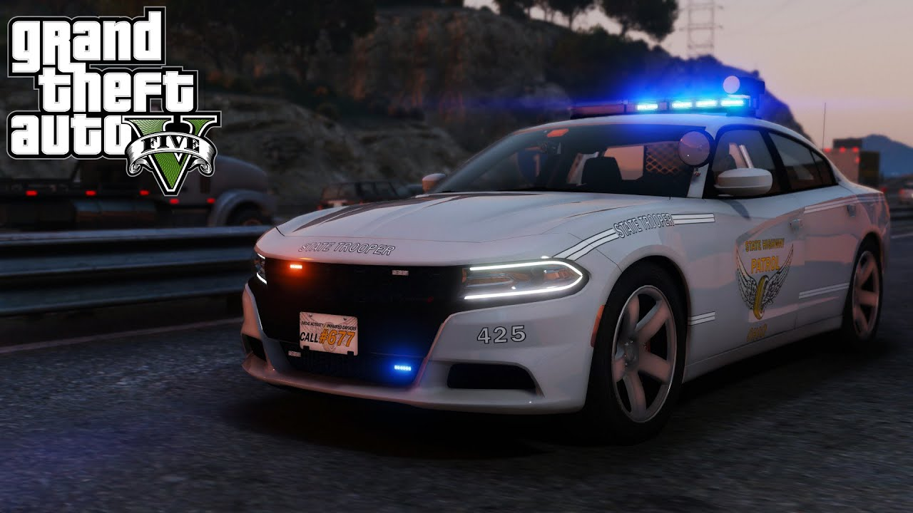 Gta V 2016 Dodge Charger Quot Ohio State Highway Patrol