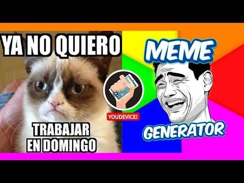 📱  MEME GENERATOR 👑   RISAS Y MAS RISAS ( IOS, Android )