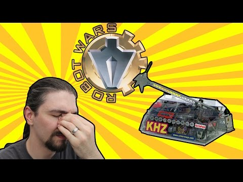 Driving Lessons From Killerhurtz! - Robot Wars LIVE REVIEW Series 3 Heat N