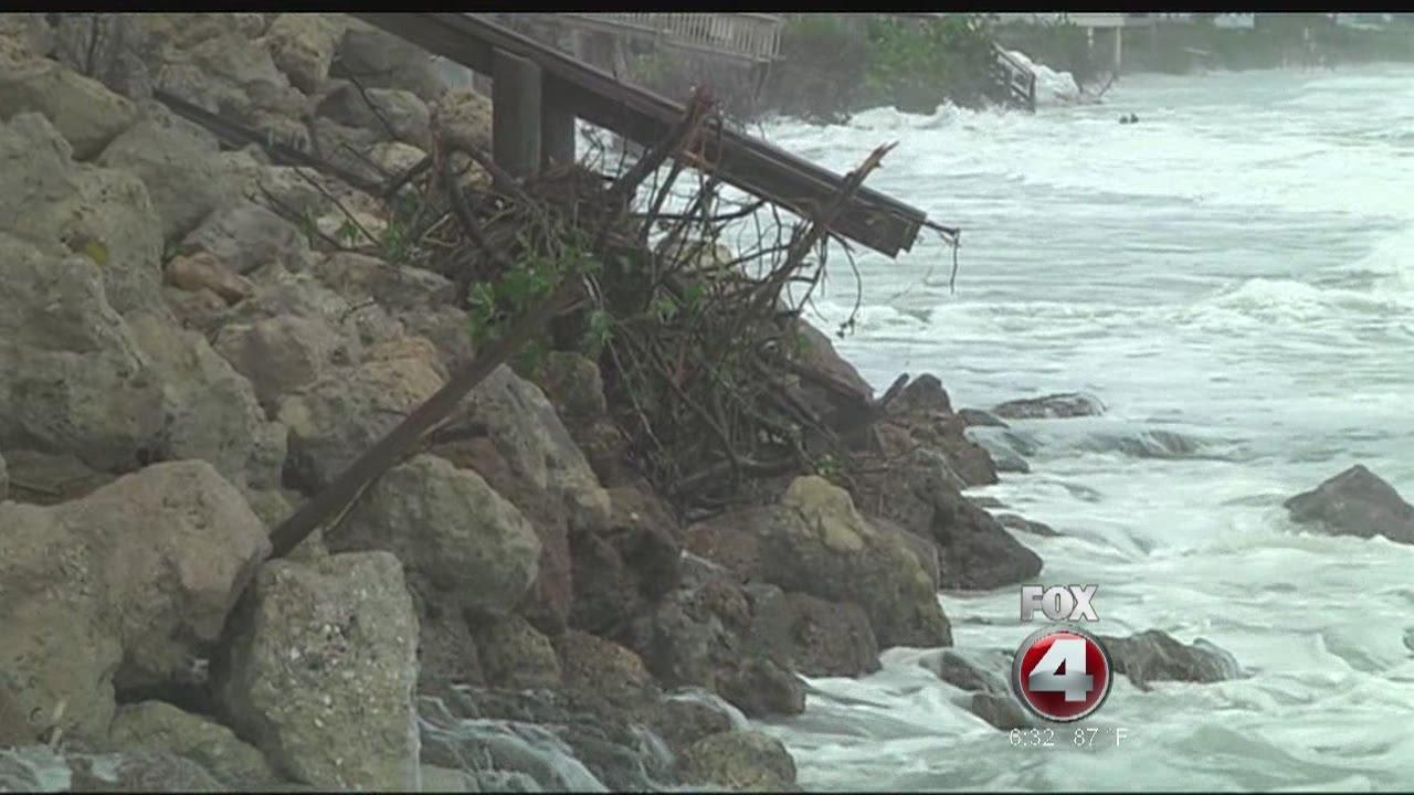 Englewood Manasota Key storm damage - YouTube