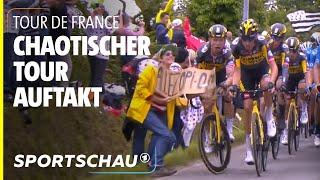 Tour de France, 1. Etappe: Zuschauerin verursacht Massensturz bei der Tour