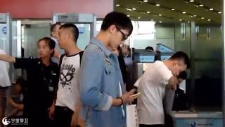 160715 Xu Weizhou at Beijing Airport to Shenzhen
