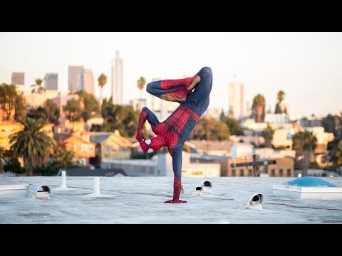 Spider-Man Sometimes Needs Yoga | Cyber Spiderman Trailer # 1